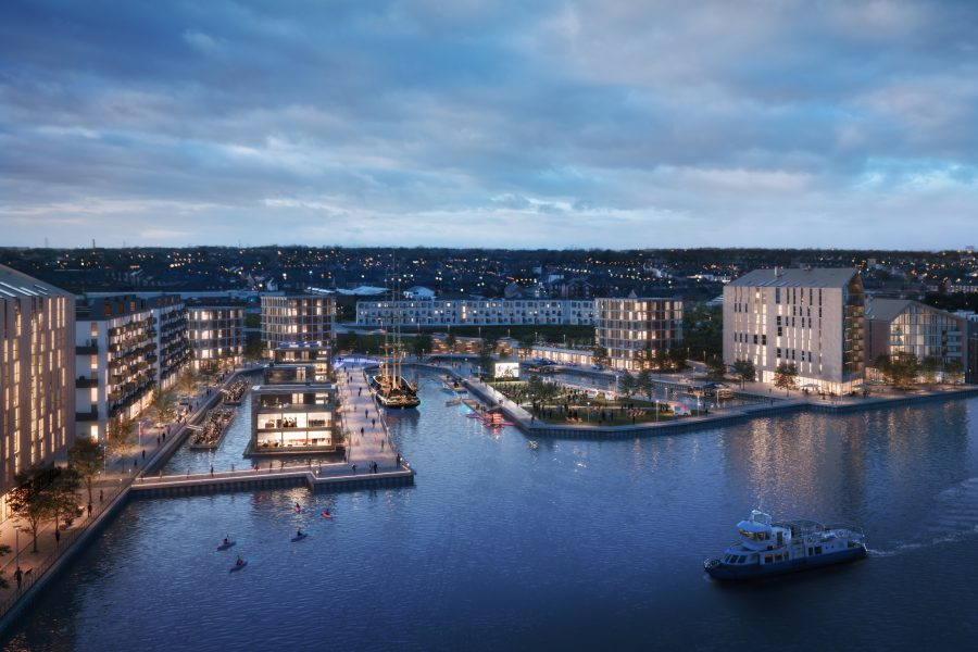90 brand new homes unveiled for sale at Smith's Dock - as site masterplan is unveiled
