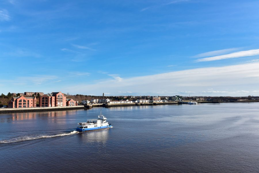 A picture perfect postcard from the Tyne